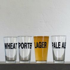 pick your poison | assorted #beer pint glasses