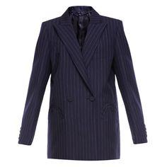 Blaze' Milano Class' blazer ($507) ❤ liked on Polyvore featuring outerwear, jackets, blazers, blaze milano, navy blue blazer, navy wool jacket, blazer jacket, blue wool jacket and blue wool blazer