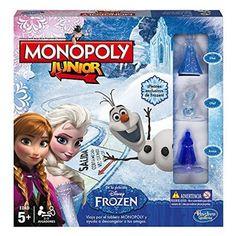 Chollo en Amazon España: Juego de mesa Monopoly Junior Frozen por 11,98€ (50% de descuento sobre el precio de venta recomendado y precio mínimo histórico)