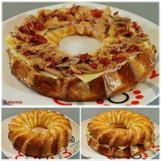 Rosca Dukan Dukan Diet, Nutrition, Empanadas, Bagel, Doughnut, Sandwiches, Healthy Eating, Bread, Desserts