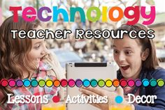 Brittany Washburn | Technology teacher lessons, activities, decor, and more! If you're an elementary technology teacher then this is for you!