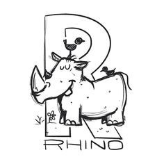 My son is into rhinos right now so naturally I have rhinos on the brain. Rhinos, Late Nights, Ems, Brain, Doodles, Snoopy, Stickers, Fictional Characters, Partying Hard