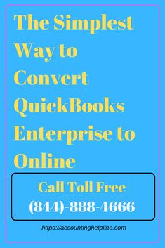 The Simplest Way to Convert QuickBooks Enterprise to Online