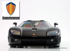 Koenigsegg CCX Diecast Scale Model by Autoart