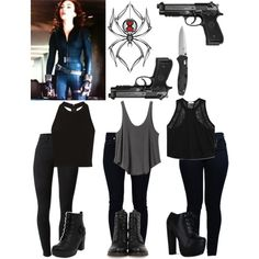 Assassin in the Making- Teenage Natasha Romanoff: Day Two Shopping by jordynn-nicole-fishy on Polyvore featuring polyvore, fashion, style, Helmut Lang, Alice + Olivia, RVCA, Armani Jeans, J Brand, 7 For All Mankind and Frye