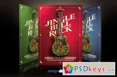 Jingle Bell Rock Flyer Template 136968