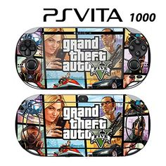 Decorative Video Game Skin Decal Cover Sticker for Sony PlayStation PS Vita PCH1000  GTA V *** Visit the image link more details. Note:It is affiliate link to Amazon.