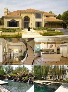 Mansion, In Ground Pool, Fancy Kitchen. Hell yes.