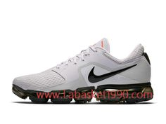 sports shoes 3eb58 76b60 Nike Air VaporMax AH9046-010 Chaussures de BasketBall Pas Cher Pour Homme  Blanc Noir-Achetez en ligne les articles signés Nike.
