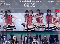 MasCrayon World's: JKT48 - FLYING GET Theme OS7 for Blackberry