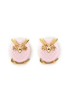 Rosie Owl Earrings | Awesome Selection of Chic Fashion Jewelry | Emma Stine Limited