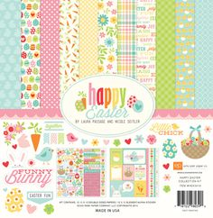 """I added """"Echo Park Happy Easter"""" to an #inlinkz linkup!http://www.echoparkpaper.com/collections/happy-easter/"""
