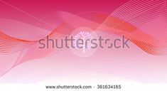Wave abstract background template pink with tree logo, web, Print, wallpaper, Album, Texture, pattern. Vector