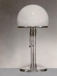 Bauhaus lamp by Wagenfelt for Bauhaus, 1925.