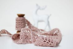 How to crochet your own lace tape, pattern