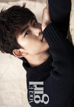 Taecyeon - Vogue Girl Korea's December 2013 ♡ #2PM