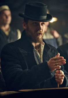 Tom is Hank O'Shea--only Hank is Black Irish. Tom Hardy as Alfie Solomons in Peaky Blinders series Starts on BBC Two this Thursday at Peaky Blinders Series, Peaky Blinders Season, Boardwalk Empire, Tom Hardy, Alfie Solomons, Birmingham, My Tom, Red Right Hand, Thing 1