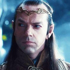 Elrond -- portrait detail