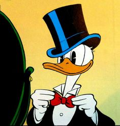 Sharp dressed duck who is DTD (Down To Duck) Old Cartoon Characters, Walt Disney Characters, Cartoon Books, Old Cartoons, Classic Cartoons, Pato Donald Y Daisy, Donald Duck Comic, Mickey Mouse, Disney Best Friends