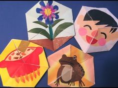 YouTube Art Therapy Activities, Origami, Abstract, Children, Artwork, Crafts, Painting, Birth, Presents