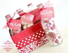 Valentines Day Pop Bottle Gift Set  Crush on you