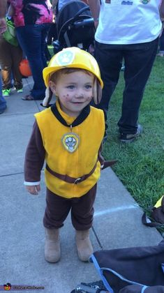 Megan: My sons love the show Paw Patrol on Nick Jr., so I made them costumes of their favorite characters; Liam as Ryder and Kade as Rubble. I then decided it...