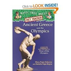 Magic Tree House Fact Tracker Ancient Greece and the Olympics: A Nonfiction Companion to Magic Tree House Hour of the Olympics: Mary Pope Osborne, Natalie Pope Boyce, Sal Murdocca: Ancient Olympics, Tacker, Magic Treehouse, My Father's World, History Timeline, Fiction And Nonfiction, Reading Levels, Reading Resources, Chapter Books