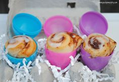 Easter Egg Rolls...Cinnamon Rolls that is!