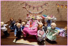 """""""Happy  Birthday""""By les Miniatures de Béatrice."""