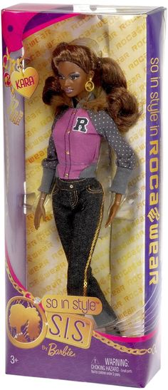 So in style rocawear Kara doll 2 Ooak Dolls, Barbie Dolls, America Girl, Barbie Stuff, Wild Style, Disney Dolls, Barbie Collection, My Childhood Memories, Doll Toys