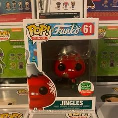 Authentic Jingles Funko Pop Funko Shop Exclusive  #61   Near Mint Condition. #affilink #popdolls #funkopop #popdolllot Funko Shop, Pop Dolls, Vinyl Figures, Conditioner, Mint, Peppermint