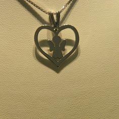#ciondolo #collana #pendente#argento#oro #bianco#cuore#angelo #angelofthelord #angeli #silver #pendant #pendants #gold #goldsmith #artistic #fashion #jewels #handmade #jewellery #jewelrygramtagsforlikes #jewerlydesign#angels #heart