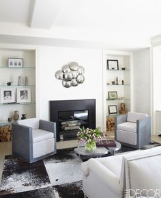 20 Brilliant White Living Room Furniture Design Ideas