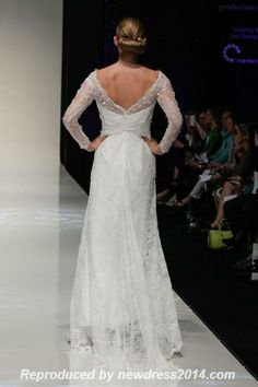 Atonement style wedding dress