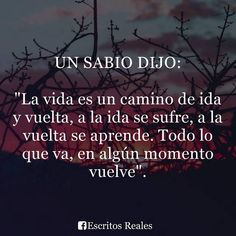 UN SABIO DIJO : Best Quotes, Funny Quotes, I Love You Baby, Spanish Quotes, Beautiful Words, Decir No, Qoutes, Prayers, Motivation