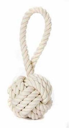 Amazon.com: Multipet Nuts for Knots Heavy Duty Rope Dog Toy with Tug, Medium: Pet Supplies