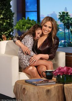 Loving mom: In the appearance, J.Lo revealed that she calls her daughter Lulu, and that th...