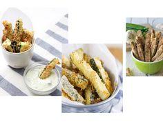 Zucchini-Pommes sind super lecker und haben kaum Kalorien