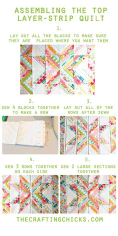 Easiest Strip Quilt-Part 2-Block