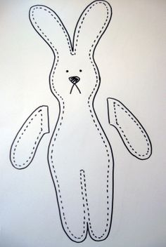 free Bunny Rabbit Patterns | Crafty Rabbit TutorialAngela Osborn