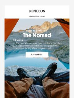 Introducing the Nomad Collection - Bonobos