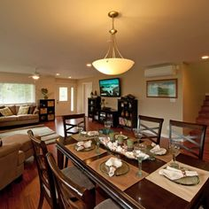 Living Room And Dining Room Combined house crashing: the tricked-out townhouse | picture frame layout
