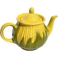 Vintage Room, Vintage Antiques, Corn Dishes, Shawnee Pottery, Antique Pottery, Kitchen Dinning, Kitchen Colors, Vintage Signs, Tea Party
