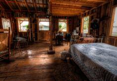 Spooky Cabin Inside View