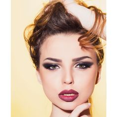 This smokey eye, combined with the simple light colors make for a great everyday look! #Cosmetology #FloridaAcademy