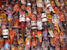 Guatamalan masks