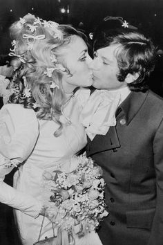 Sharon Tate y Roman Polanski