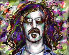 Frank Zappa Art Print