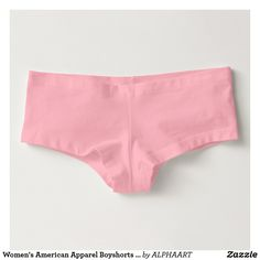 Women's American Apparel Boyshorts Underwear