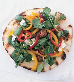 Grilled Pizza Menu - Bon Appétit
